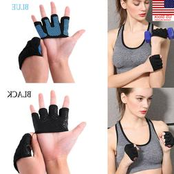 1 Pair Half of Finger Training Outdoor Sports Four Weightlif