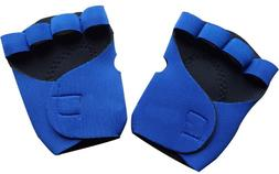 1 Pair Men/Women Anti-slip Half Finger Fitness <font><b>Glov