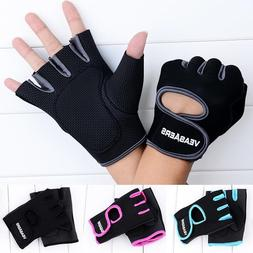 1 Pair Men/Women Gym Half Finger <font><b>Sports</b></font>