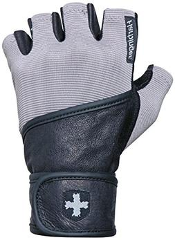 Harbinger 130 Classic Wristwrap Weight Lifting Gloves - Larg