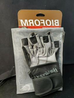 Harbinger 1310 BioForm Wristwrap Weight Lifting Gloves - Med