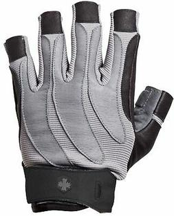 Harbinger 1315 BioForm Weight Lifting Gloves - Large - Black