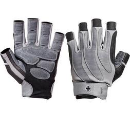 Harbinger 1315 BioForm Weight Lifting Gloves - Black/Gray