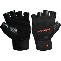140 ventilated pro wristwrap weight lifting gloves