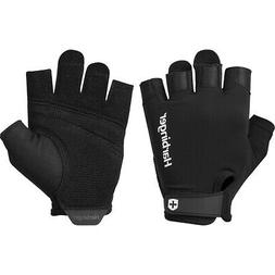143 ventilated pro weight lifting gloves black