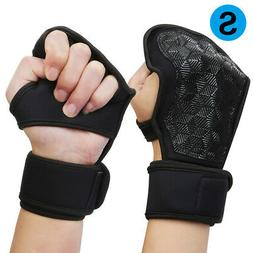 1Pair Weight Lifting Gym Gloves Workout Wrist In/Outdoor Spo