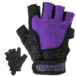 Contraband Pink Label 5127 Womens Weight Lifting Gloves w/Co