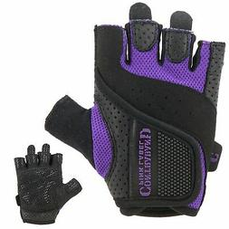 Contraband Pink Label 5137 Womens Weight Lifting Gloves w/Gr
