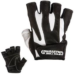 Contraband Black Label 5150 Pro Leather Weight Lifting Glove