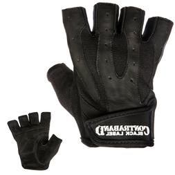 5150 pro leather weight lifting gloves pair