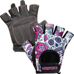 Contraband Sports 5237 Pink Label Sugar Skull Weight Lifting