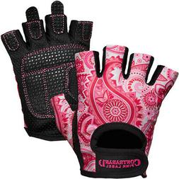 Contraband Sports 5387 Pink Label Paisley Weight Lifting Glo
