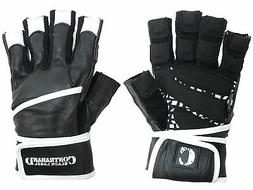 Contraband Black Label 5930 Premium Leather Lifting Gloves w
