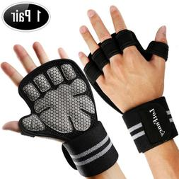 Active Weight Lifting Gloves Sports Workout Gym Cross Traini