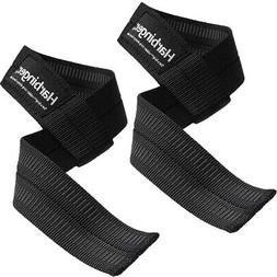 Harbinger Big Grip No-Slip Nylon Lifting Straps with DuraGri