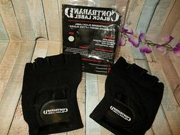 CONTRABAND BLACK LABEL 5050 WEIGHT LIFTING GLOVES ~ LARGE ~