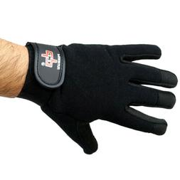 Perrini Black Workout / Weight Lifting / Work Gloves All Siz