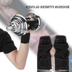 BOODUN Fitness Gloves Weight Lifting Gym Workout Training Wr