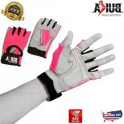 BUKA  WEIGHT LIFTING GYM GLOVES, BODY BUILDING EXERCISE WOME