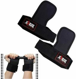 BUKA Gym Weight Lifting Straps Power Training Grip Workout W