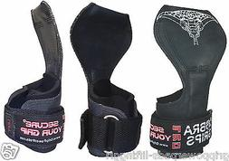 Cobra Grips PRO Gym Body Building Hooks Gloves Sports Weight