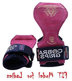 Cobra Grips PRO Weight Lifting Gloves Heavy Duty Straps Alte