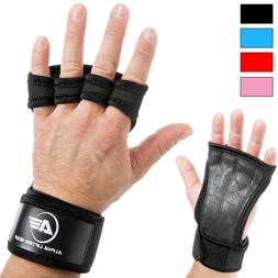 🔥Cross Training Crossfit Gloves Wrist Support Gym Workout