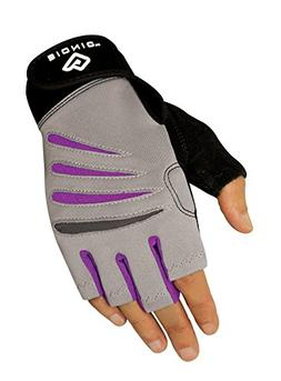 Bionic Women's Cross-Training Fingerless Gloves w/Natural Fi