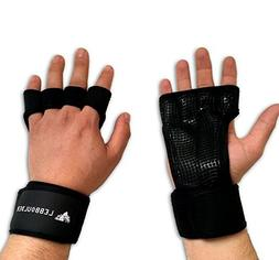 LEBBOULDER Cross Training Gloves with Wrist Support for WODs