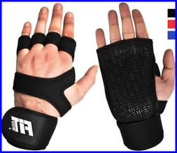 FITWISE Cross Training Gloves W Wrist Support Pair Weight Li