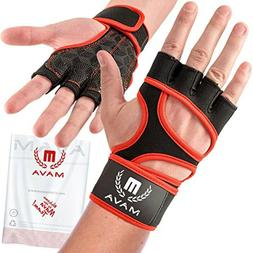 Mava Sports Cross Training Gloves with Wrist Support for Gym