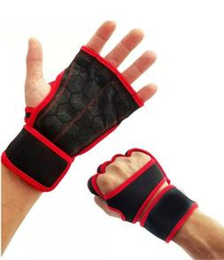 LT Fit Cross Training Gloves With Wrist Support for WODs Gym