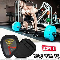 Wyox Cross Training Gloves Xtreme Rubber Lifting Grip Pads W