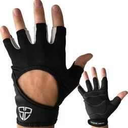 Steel Sweat Crossfit Gloves - Best for WOD Cross Training, C