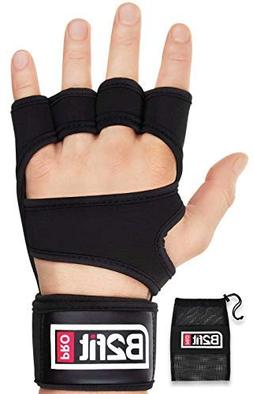 B2FIT PRO Crossfit Gloves with Wrist Support - Ventilated We