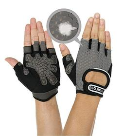 KIWI RATA Cycling Gloves Bicycle Gloves with Wrist Support,O