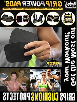 Grip Power Pads 3 Pack Firm ALTERNATIVE TO GYM GLOVES, Weigh