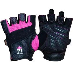 Meister Women's Fit Grip Weight Lifting Gloves w/Washable Am