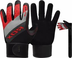 RDX Weight Lifting Gloves Gym Fitness workout Training Bodyb