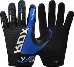 RDX Full Finger Weight Lifting Gym Gloves Fitness Wrist Stra
