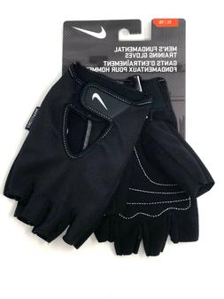 Nike Fundamental Training Gloves Half Finger Men's Workout G