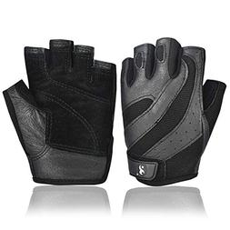 Keep Outdoor Genuine Leather Male Bodybuilding Workout Glove