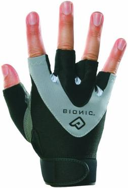 Bionic Gloves Men's Half Finger Fitness/Lifting Gloves w/ Na