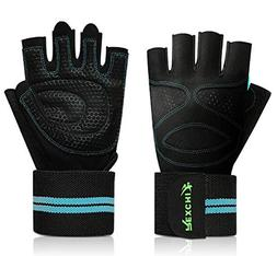 AMDXD Women Gloves Riding Outdoor Wrist Care Weightlifting B