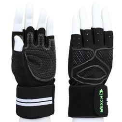 Great for Pull Ups, Cross Training - Weightlifting Gloves -