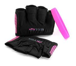 Fit Four The Gripper Fitness Weight Lifting Gloves - Large -