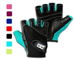 RIMSports Gym Gloves for Powerlifting, Weight Training,Bikin