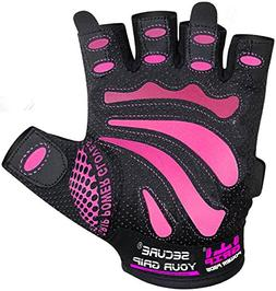 Women Gym Gloves Protect Your Hands & Improve Your Grip - Pi