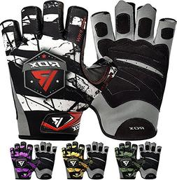 RDX Gym Weight Lifting Gloves Crossfit Powerlifting Training