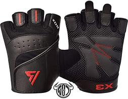 RDX Gym Weight Lifting Gloves Workout Fitness Crossfit Bodyb